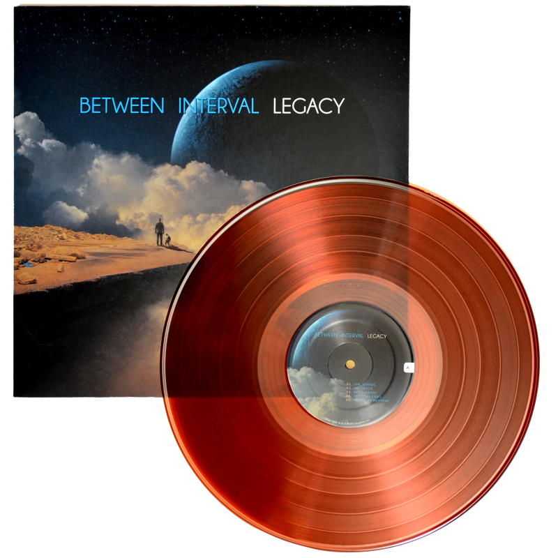 Between Interval - LEGACY sleeve and colored vinyl record